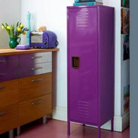 Retro Locker Kitchen Cabinet - Tall