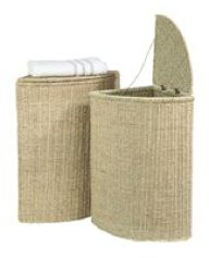 Small Seagrass Laundry Basket