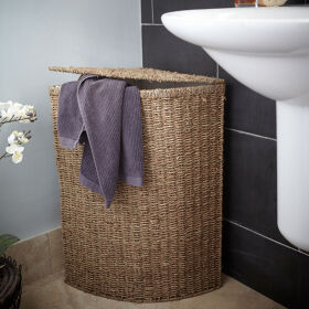 Seagrass Laundry Basket - Small