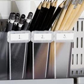 Elfa Craft Board Label Holders - Pack of 4
