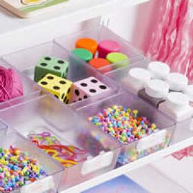 Elfa Craft Storage Box - Rectangular