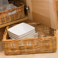 Extra Large Rectangular Wicker Basket