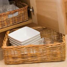 Large Rectangular Wicker Basket