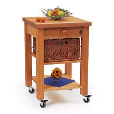 Lambourn 1 Drawer Kitchen Trolley