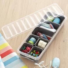Craft Storage Box & Supplies Trays