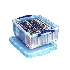 CD & DVD Storage Box - 18 Ltr Really Useful Box