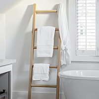 Hambledon Oak Towel Ladder