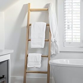 Hambledon Oak Towel Ladder