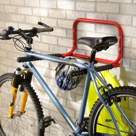 Fold-Up Bike and Helmet Rack
