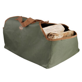 Canvas Log Bag