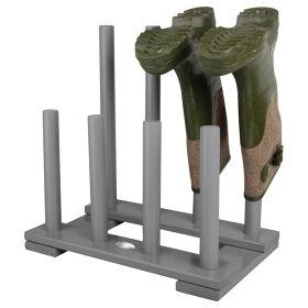 Wooden Wellington Boot Rack