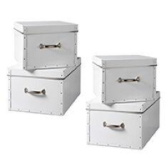 Set of 4 Storage Boxes
