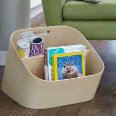 Wooden Magazine Rack - Mole