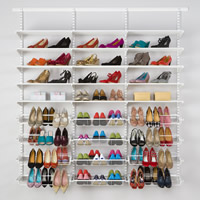 Elfa Shoe Storage Solution - Classic