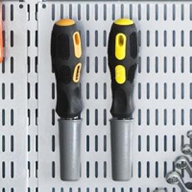 Elfa Peg/Tool Board Cups - Pack of 2