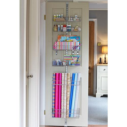 Elfa Door & Wall Rack - Over Door Gift Wrap Store