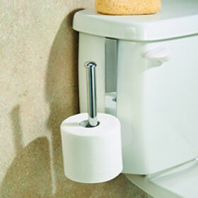 Cistern Mount Toilet Roll Holder - Classico