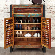Urban Chic Shoe Cupboard