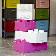 Giant LEGO Storage Blocks - Baby Girl Bundle
