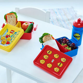 LEGO Lunch Boxes and Drinking Bottles