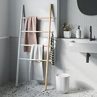 Hub Towel Ladder Rack