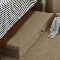 Hessian Underbed Storage Chest - XL