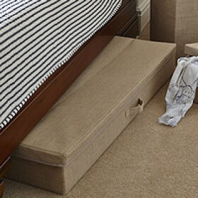 Hessian Underbed Storage Chest - XL