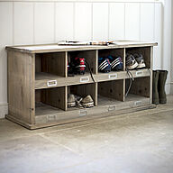 Chedworth Shoe Storage Locker & Bench