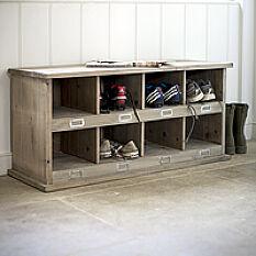 Chedworth Shoe Storage Locker & Bench