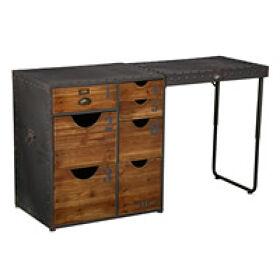 Retro Desk - 7 Drawer