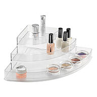 Large Corner Cosmetics Organiser