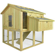 Space-Saving Chicken Coop