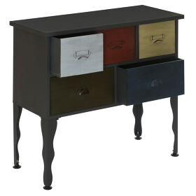 5 Drawer Cabinet - New York Loft