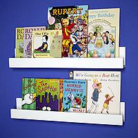 2 x Kids Gallery Bookshelves