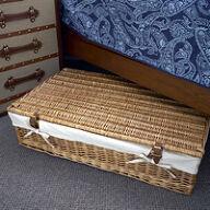 Underbed Storage Basket - Lined Willow