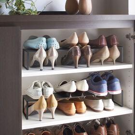 In-Cupboard Extending Shoe Rack