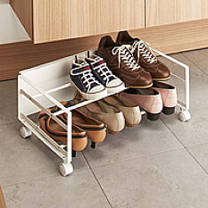 Underbed Shoe Storage Rack