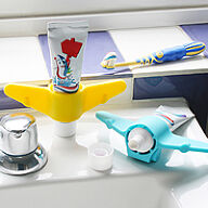 Aeroplane Toothpaste Holder