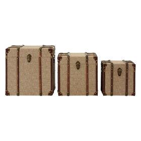 Set of 3 Storage Trunks