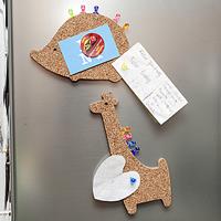 Animal Cork Board Fridge Magnet