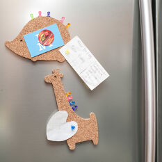 Animal Cork Board Fridge Magnet