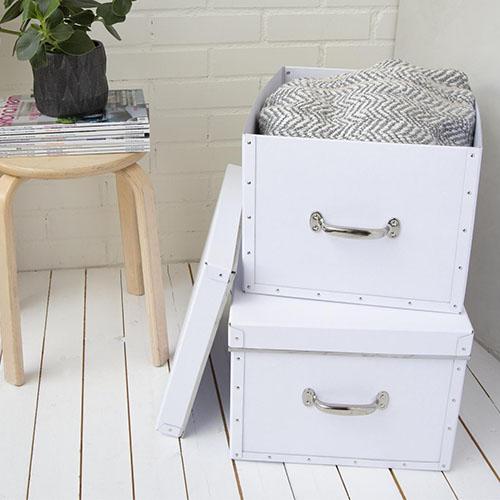 Set of 2 Storage Boxes