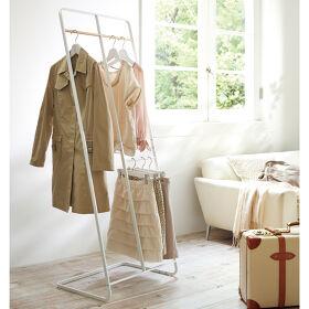 Freestanding Scandi Clothes Storage Rack - Tower