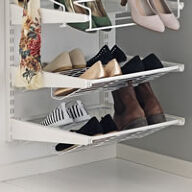 Elfa Gliding Shoe Shelf - 45cm