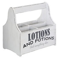 Wooden Storage Caddy - Lotions