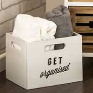 Set of 2 Wooden Storage Boxes - Tribeca