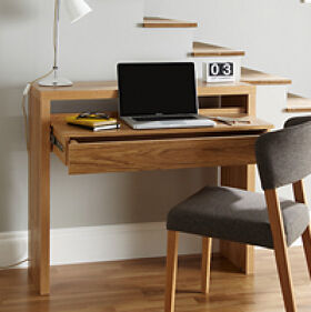 Oak Console Desk