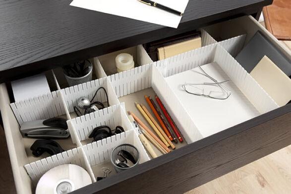 Set Of Drawer Organiser Dividers Store