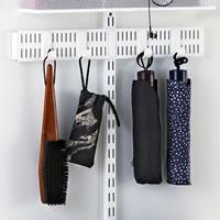 Elfa Door and Wall Rack Board 2 Slot - 45cm
