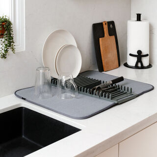 Dish Racks & Sink Area